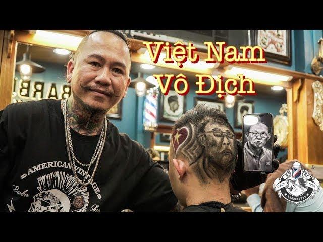 Tattoo Hair Thầy Park Hang Seo | Đội Tuyển Việt Nam | Barbershop Vũ Trí