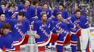 NHL 19 - New York Rangers Stanley Cup Celebration