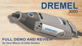 """Dremel 3000 """"FULL Review"""" Unpack & Demo  In HD"""