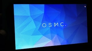 "OSMC working with Raspberry pi official 7"" touchscreen"