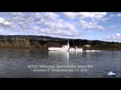 Thumbnail: Sea Hunter, the self-driving warship