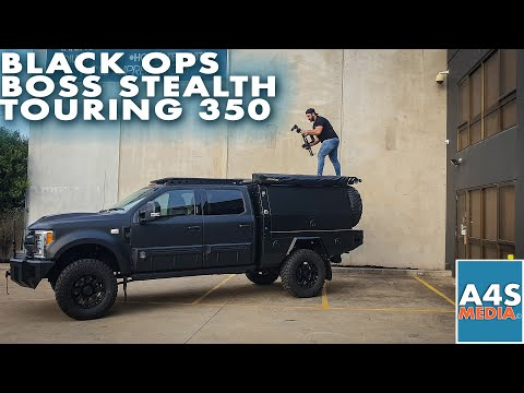Black Ops Boss Stealth Touring 350 by Tuscany 6.7l Powerstroke V8 Turbo Diesel