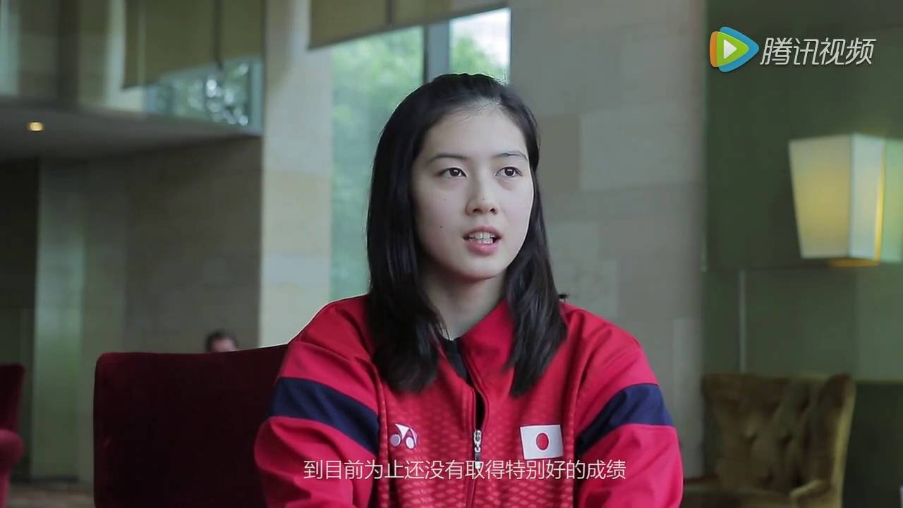 Aya ohori Interviewed in Uber Cup