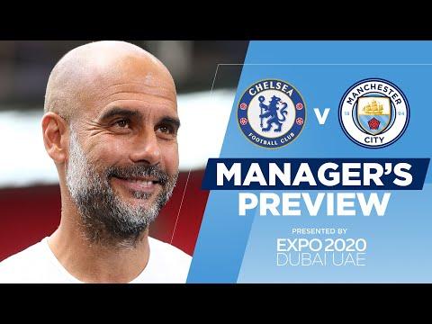 PEP GUARDIOLA PRESS CONFERENCE | Chelsea v Man City