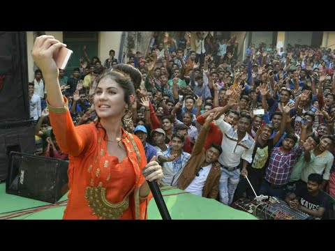 Rittika Sen Stage Performance at Kandi Raj College | College