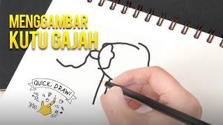Tes Kemampuan Menggambar Malah Menggambar Kutu Gajah :v - QUICK, DRAW! Indonesia