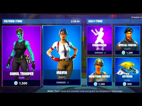 Fortnite New Daily Item Shop Countdown New Skins February 5th 2019