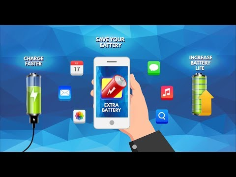 Extra Battery - Battery Saver & Fast Charger