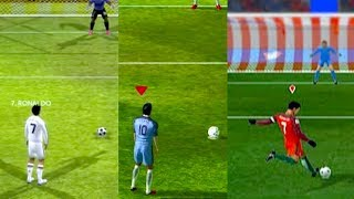 THE EVOLUTION OF PENALTIES - Dream League Soccer