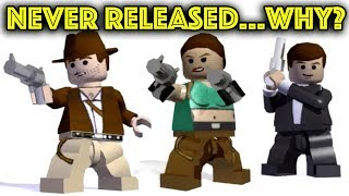 Lego Games That Nearly Got Made  The Last One Would Have Been Amazing