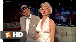The Seven Year Itch (4/5) Movie CLIP - A Delicious Breeze (1955) HD
