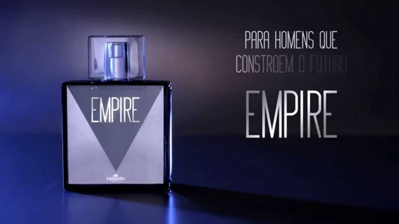 Lançamento Perfume Exclusivo Hinode EMPIRE - YouTube 089dd7c7e85