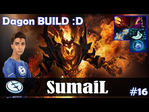 SumaiL - Shadow Fiend MID | Dagon BUILD :D | 7.07 Update Patch Dota 2 Pro MMR  Gameplay #16