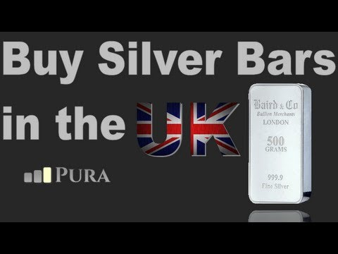 Buy Silver Bullion Bars in the UK