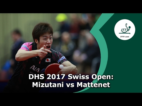 DHS 2017 Swiss Open Quartefinals: Mizutani vs Mattenet