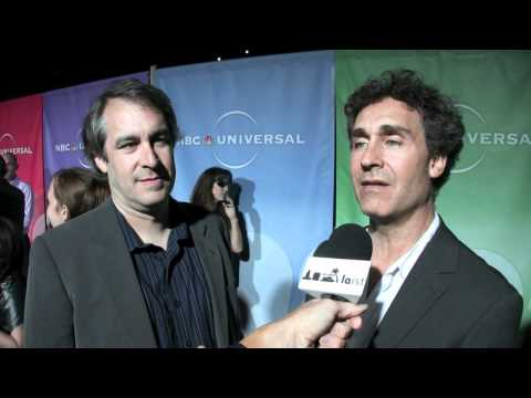 Dave Bartis and Doug Liman, producers of USA's 'Covert Affairs' at the summer TCAs
