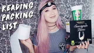 One of Amy Valentine's most viewed videos: What to Pack for Reading Festival | Amy Valentine