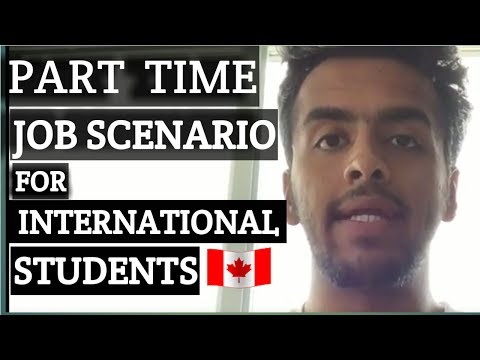 Part Time Job Scenario In Canada For International Students