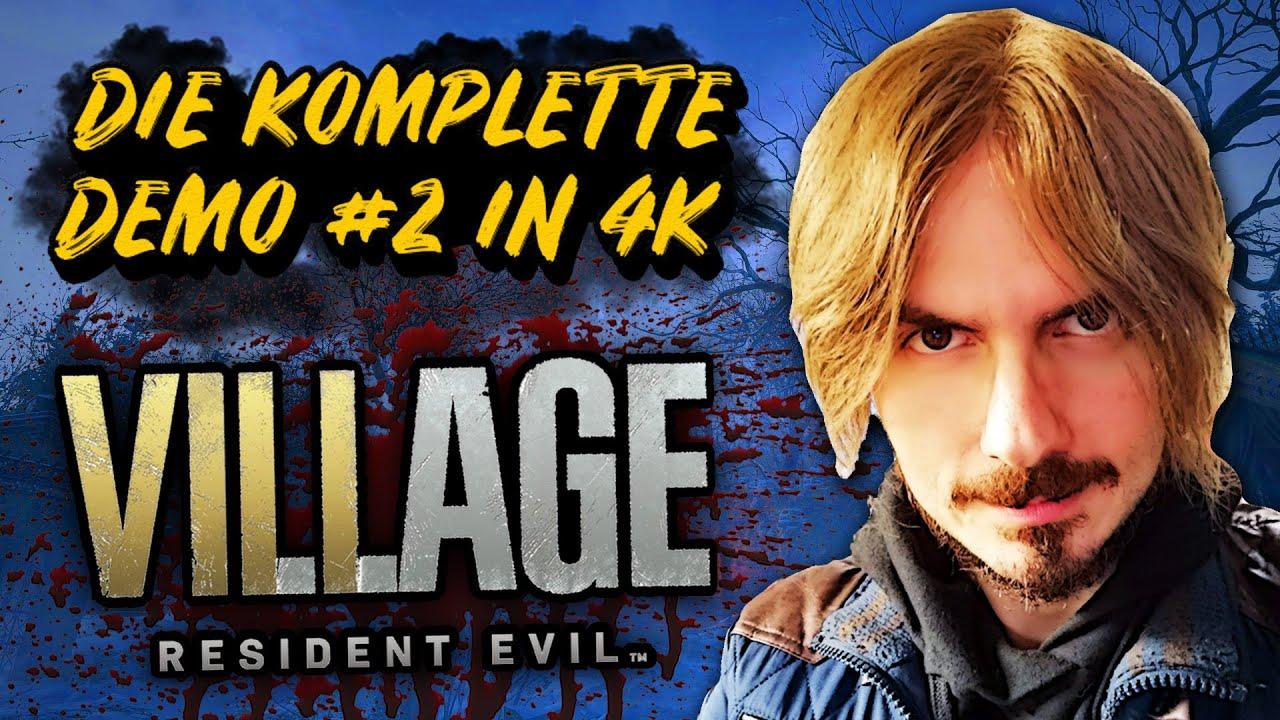 LET'S PLAY Resident Evil Village DEMO #2 in 4K // KOMPLETT 💿 Wolfshaar mit Raytracing! (Deutsch)