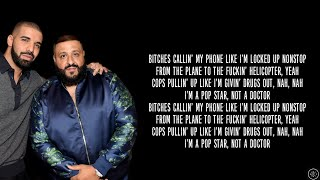 DJ Khaled ft. Drake - POPSTAR (Lyrics)