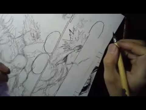 Yusuke Murata Live drawing spring 2018 #5