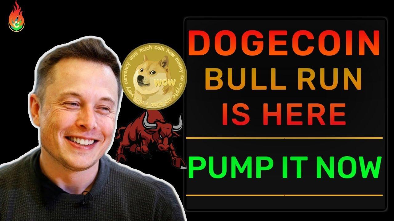 DOGECOIN HUGE PUMP TOMORROW? BULL RUN? | DOGECOIN NEWS ...