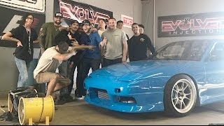 BLUEJZ Nissan 240SX DYNO DAY! - The Quest For 500HP!
