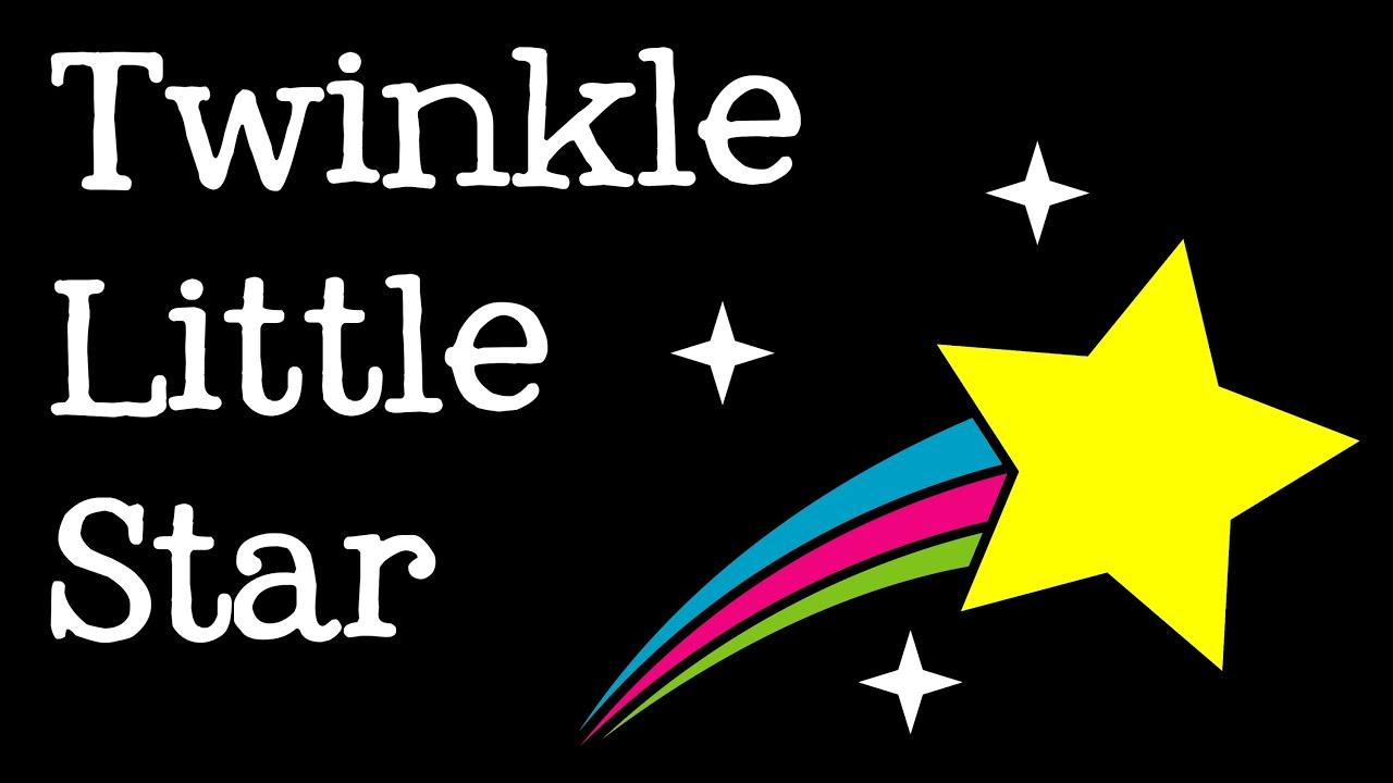 Twinkle little star music video for children