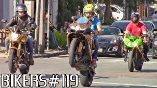 BIKERS #119 - Superbikes Wheelies, Burnouts & RL's on the streets!