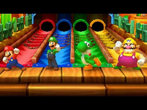 Mario Party Star Rush – All Free-for-All Minigames