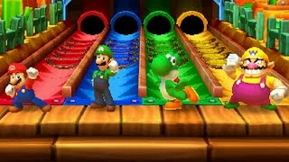 Mario Party Star Rush - All Free-for-All Minigames thumbnail