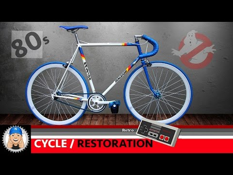 Raleigh Bicycle Fixed Wheel Restoration