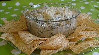 Spinach Artichoke Dip With Alfredo! By Christina