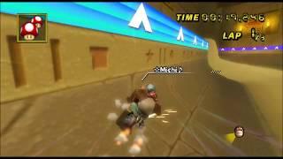 Mario Kart Wii TAS Dry Dry Ruins Supergrind Strat