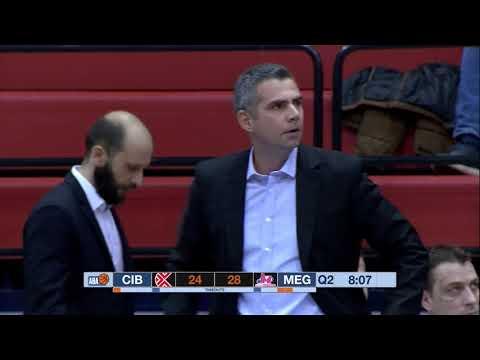 ABA Liga 2017/18 highlights, Round 12: Cibona - Mega Bemax (18.12.2017)