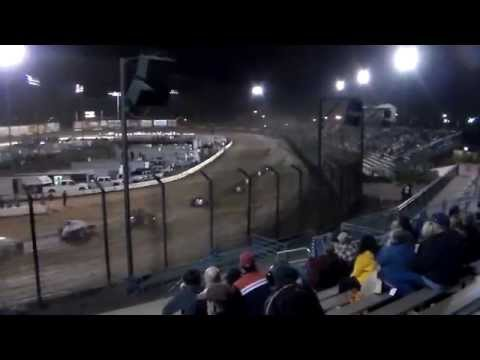 USAC CRA Sprint Car Series Main Event - Perris Auto Speedway 3.7.15