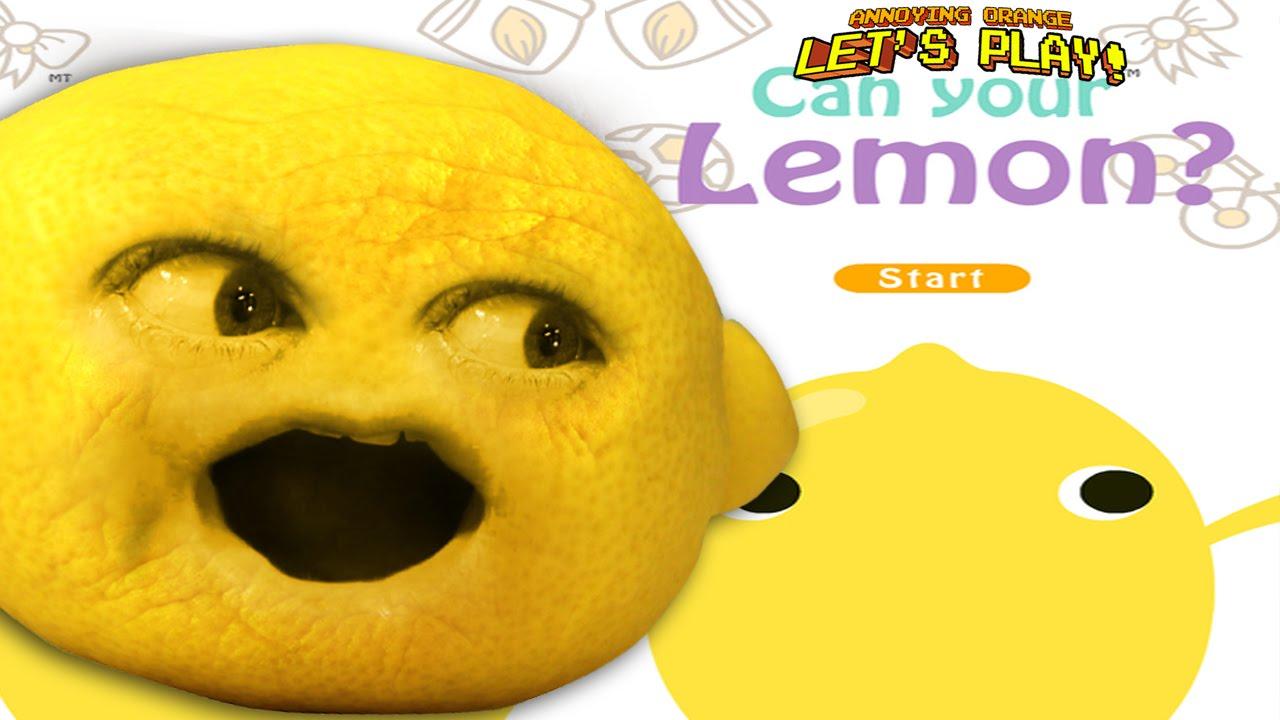 annoying orange grandpa lemon - photo #19