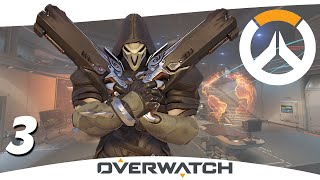 Overwatch Closed Beta E3 - REAPER ON WATCHPOINT: GIBRALTAR - Gameplay