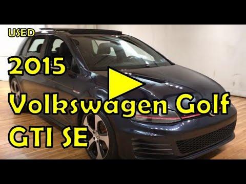 2015 Volkswagen Golf GTI SE MEDIA SCREEN MOONROOF REAR CAMERA #Carvision