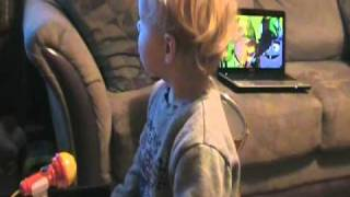 "Ryan Sings ""Cant Always Get What You Want"" by the Yo Dazzlerz of Yo Gabba Gabba"