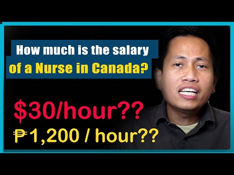 How Much Is The Salary Of Nurse In Canada?