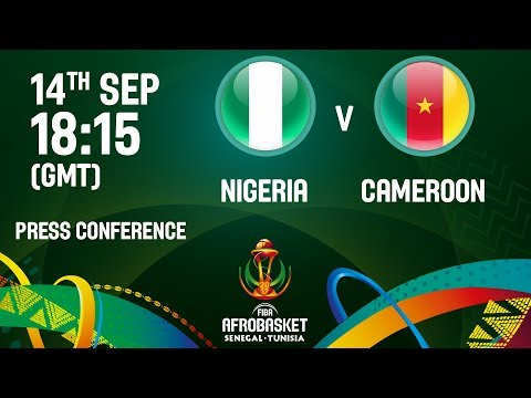 Nigeria v Cameroon - Press Conference