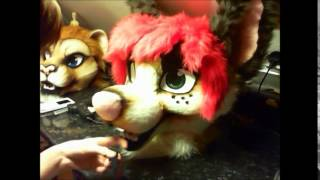 Fursuit Head Tutorial - Time Lapse - Part 8 - Airbrushing