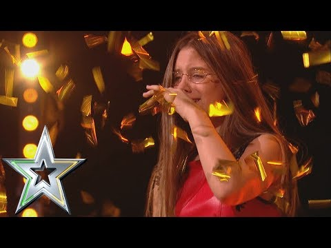 14 year old singer Iveta gets Michelle&39;s Golden Buzzer  Ireland&39;s Got Talent 2019