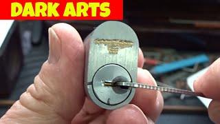 (1263) Dark Art'S Intricate Pins