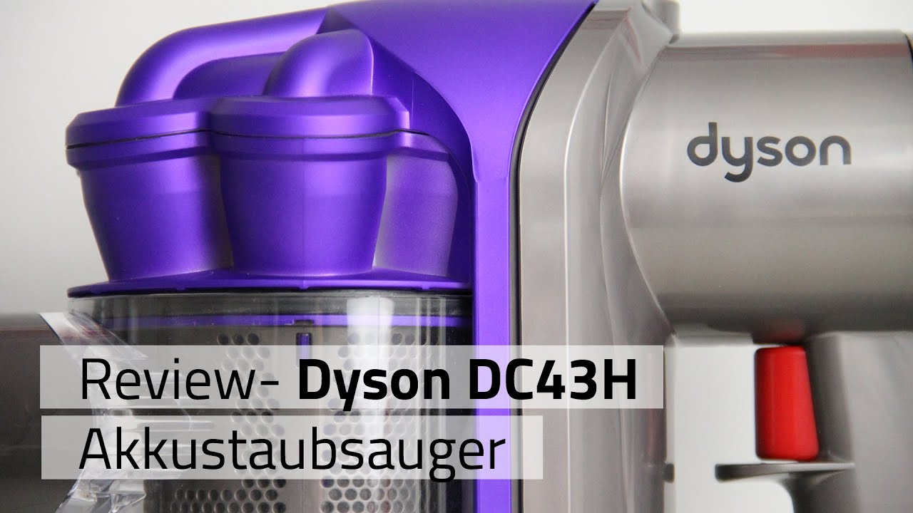 review dyson dc43h akkustaubsauger youtube. Black Bedroom Furniture Sets. Home Design Ideas