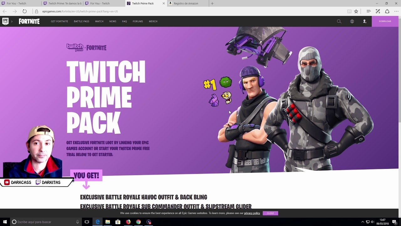 Epic Games Twitch