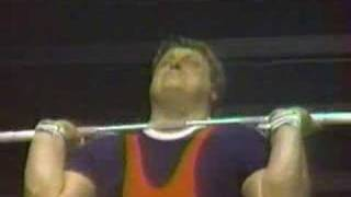 1992 Olympics - Weightlifting SHW Clean & Jerk