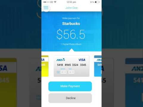 Payment App Free UI Template PSD
