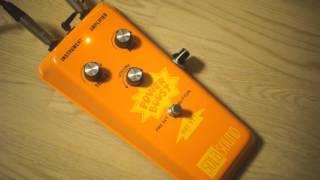 Sola Sound Colorsound Power Boost fuzz